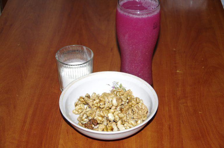 Ингредиенты для чурчхелы